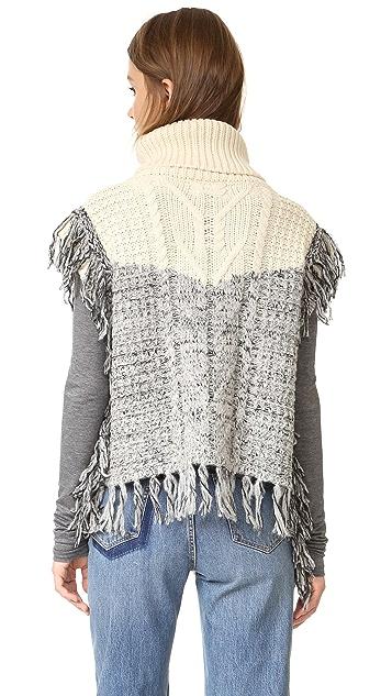 Scotch & Soda/Maison Scotch Fringed Sleeveless Sweater