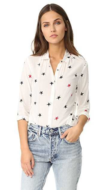 Scotch & Soda/Maison Scotch Star Button Down