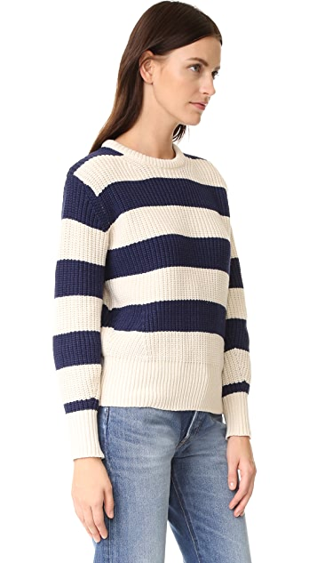 Scotch & Soda/Maison Scotch Pullover Sweater with Shaped Sleeves