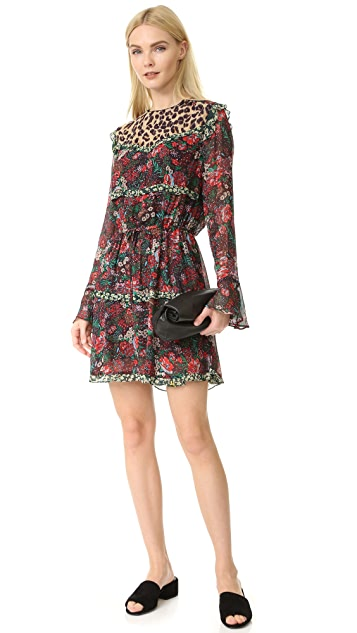 Scotch & Soda/Maison Scotch Mixed Print Dress