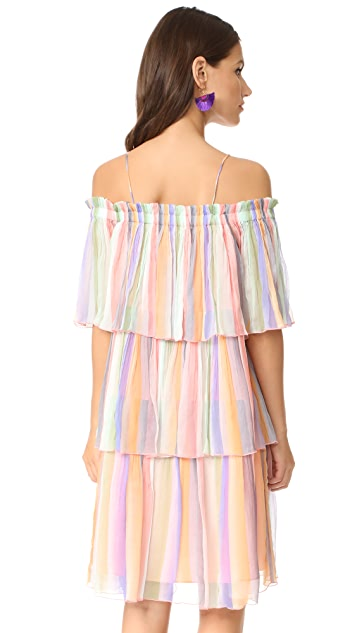 Scotch & Soda/Maison Scotch Off Shoulder Dress