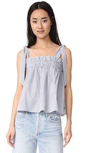 Scotch & Soda/Maison Scotch Ruffle Top