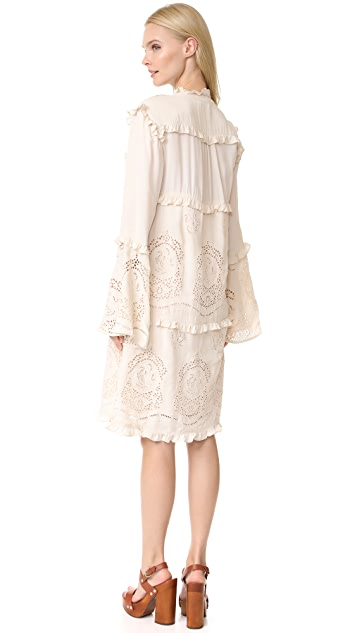 Scotch & Soda/Maison Scotch Viscose Suit Dress