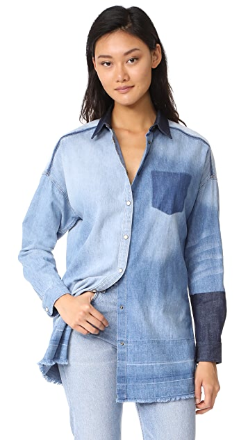 DENIM - Denim shirts Maison Scotch Cheap Price Free Shipping cYo1bvE