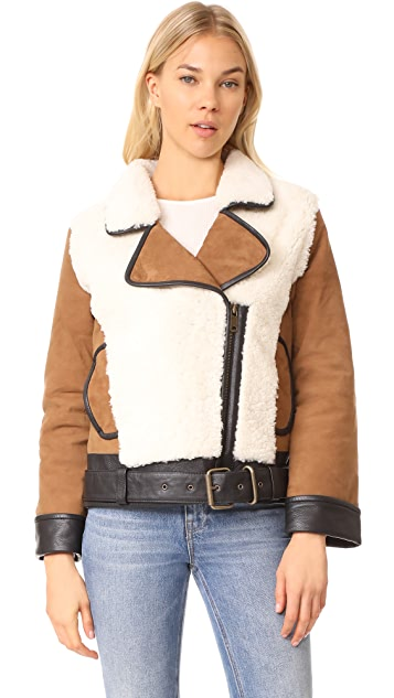 Scotch & Soda/Maison Scotch Teddy Biker Jacket