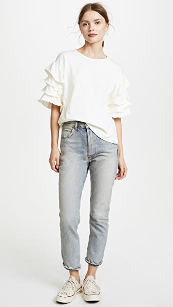 Scotch & Soda/Maison Scotch Pirate Ruffle Tee