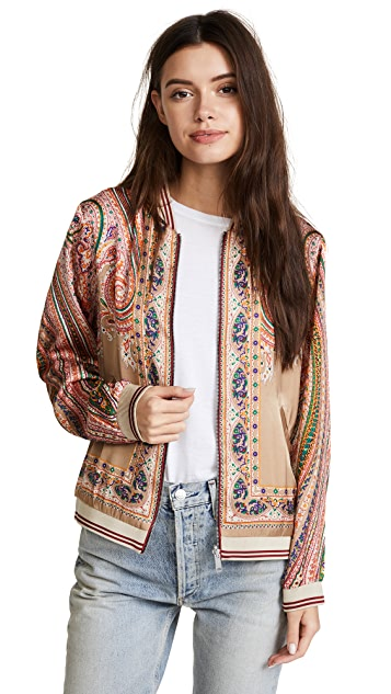 Scotch & Soda/Maison Scotch Twill Bomber Jacket