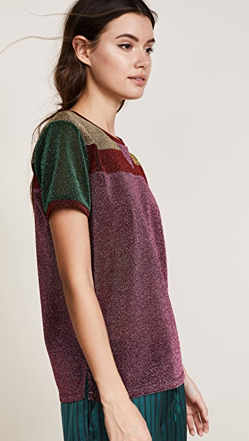 Scotch & Soda/Maison Scotch Colorblocked Short Sleeve Tee
