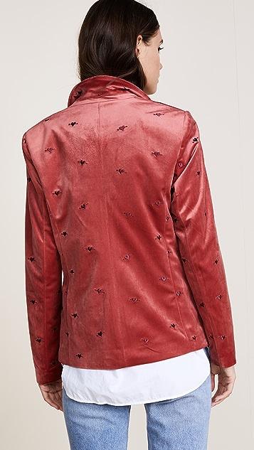 Scotch & Soda/Maison Scotch Velvet Tailored Blazer