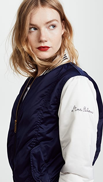 Scotch & Soda/Maison Scotch Basic Cool Bomber Jacket
