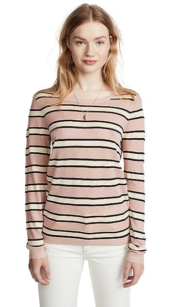 Scotch & Soda/Maison Scotch Metallic Stripe Sweater