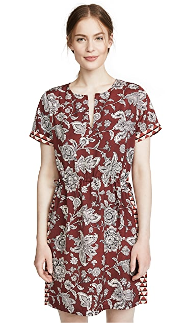 Scotch & Soda/Maison Scotch Paisley Print Dress