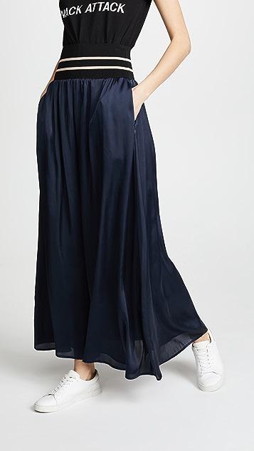 Scotch & Soda/Maison Scotch Maxi Skirt with Elastic Waist