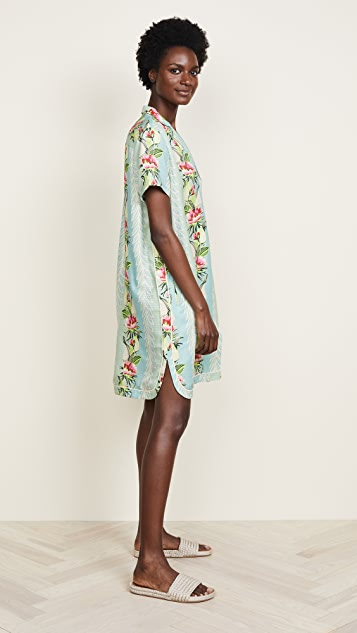 Scotch & Soda/Maison Scotch Poolside Printed Shirtdress