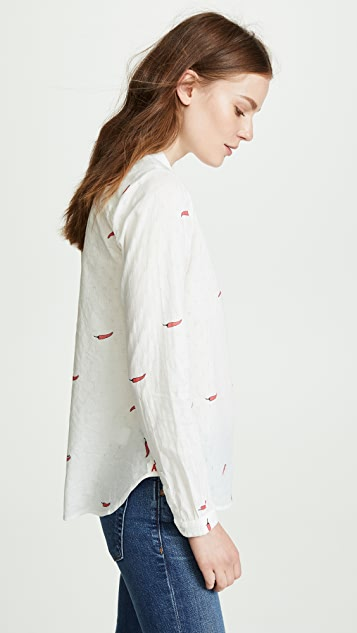 Scotch & Soda/Maison Scotch Chilli Pepper Button Down