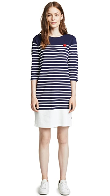 Scotch & Soda/Maison Scotch Breton Striped Dress
