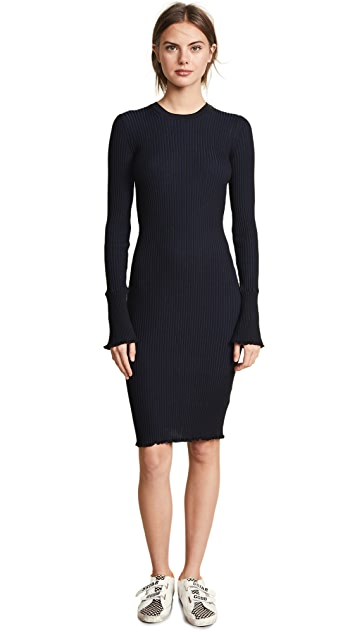 Scotch & Soda/Maison Scotch Ribbed Knit Dress
