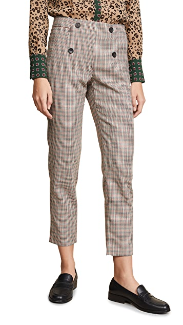 Scotch & Soda/Maison Scotch Tailored Check Pants