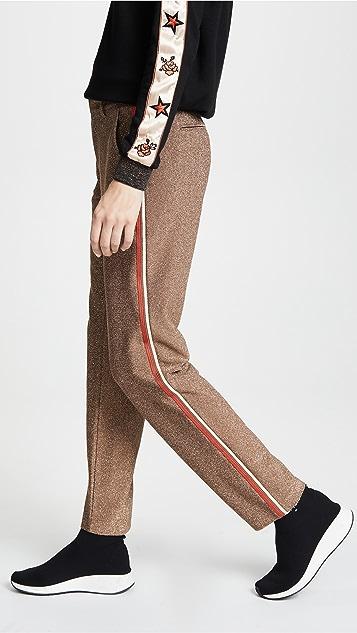 Scotch & Soda/Maison Scotch Metallic Tailored Pants