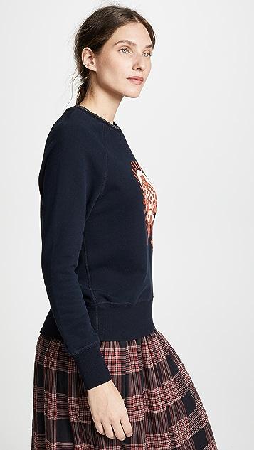Scotch & Soda/Maison Scotch Raglan Tiger Sweater