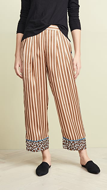 Scotch Amp Soda Maison Scotch Pajama Inspired Pants