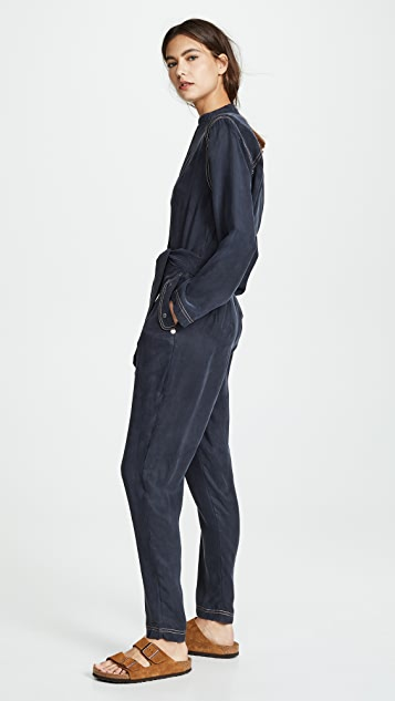 Scotch & Soda/Maison Scotch Utility Jumpsuit