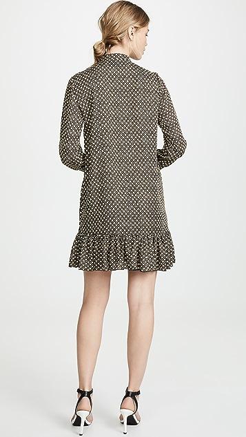 Scotch & Soda/Maison Scotch 腰褶直筒连衣裙