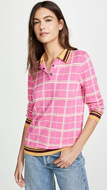 Scotch & Soda/Maison Scotch Knitted Polo Shirt