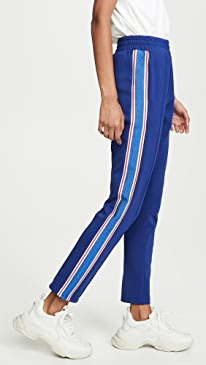 Colorful Sporty Ribbed Sweats