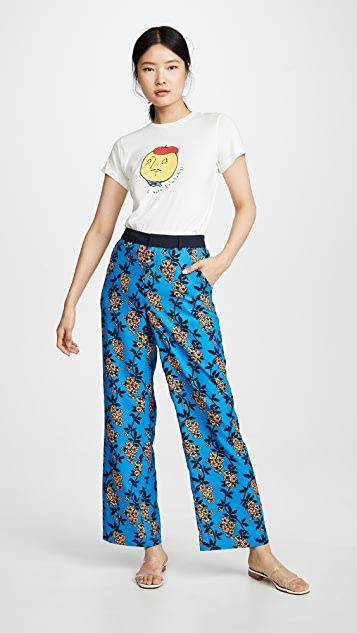 Scotch & Soda/Maison Scotch Wide Leg Tailored Pants