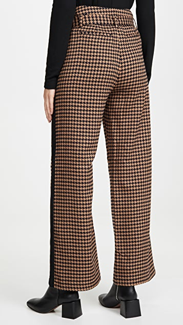 Scotch & Soda/Maison Scotch Wide Leg Contrast Side Panel Pants