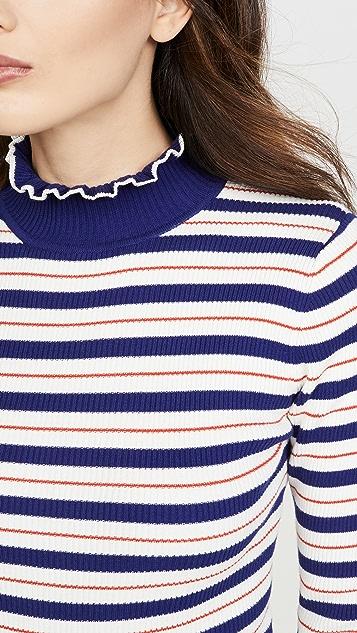 Scotch & Soda/Maison Scotch Рубчатый свитер с воротником под горло