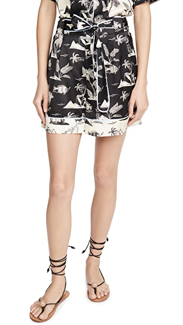 Scotch & Soda/Maison Scotch Printed Shorts