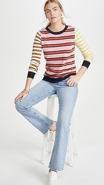 Scotch & Soda/Maison Scotch Базовый свитер с округлым вырезом