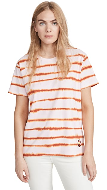 Scotch & Soda/Maison Scotch Oversized Tie Dye Tee