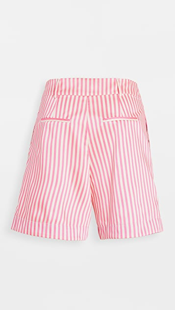 Scotch & Soda/Maison Scotch Striped Tailored Shorts