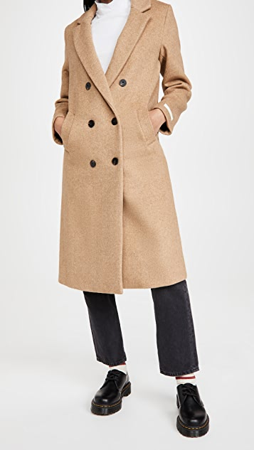 Scotch & Soda Tailored Double Breasted Coat