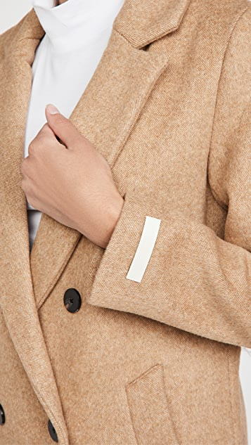 Scotch & Soda/Maison Scotch 考究双排扣大衣