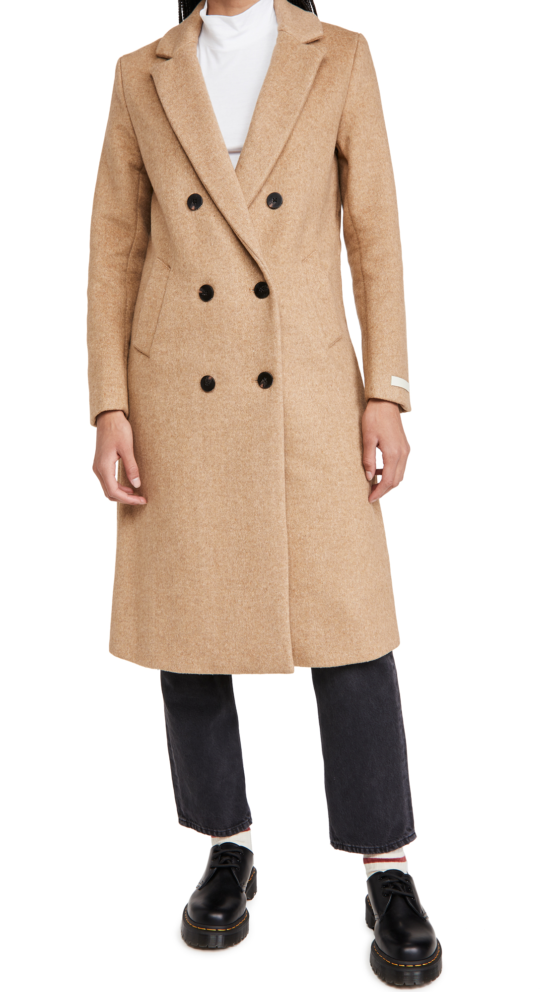 Scotch & Soda/Maison Scotch Tailored Double Breasted Coat