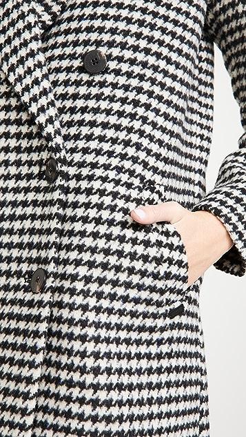 Scotch & Soda/Maison Scotch Double-Breasted Tailored Wool Coat