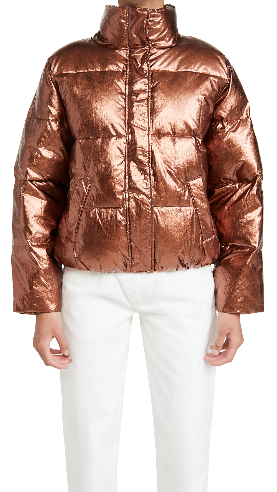 Scotch & Soda/Maison Scotch Padded Metallic Puffer