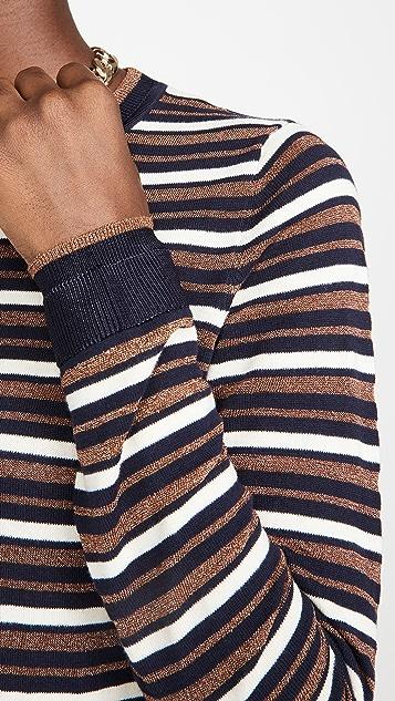 Scotch & Soda/Maison Scotch Basic Striped Pullover Sweater