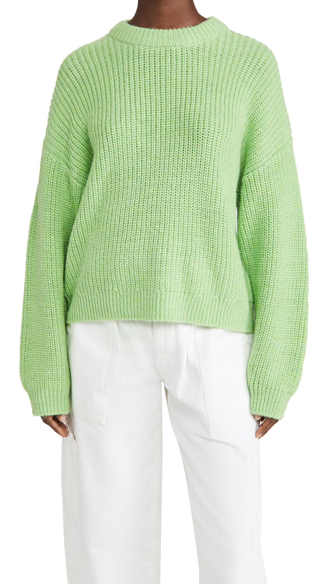 Scotch & Soda/Maison Scotch Soft Crew Neck Rib Knit Sweater