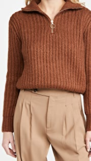 Scotch & Soda Half Zip Pullover Sweater