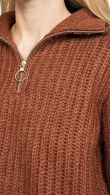 Scotch & Soda/Maison Scotch Half Zip Pullover Sweater