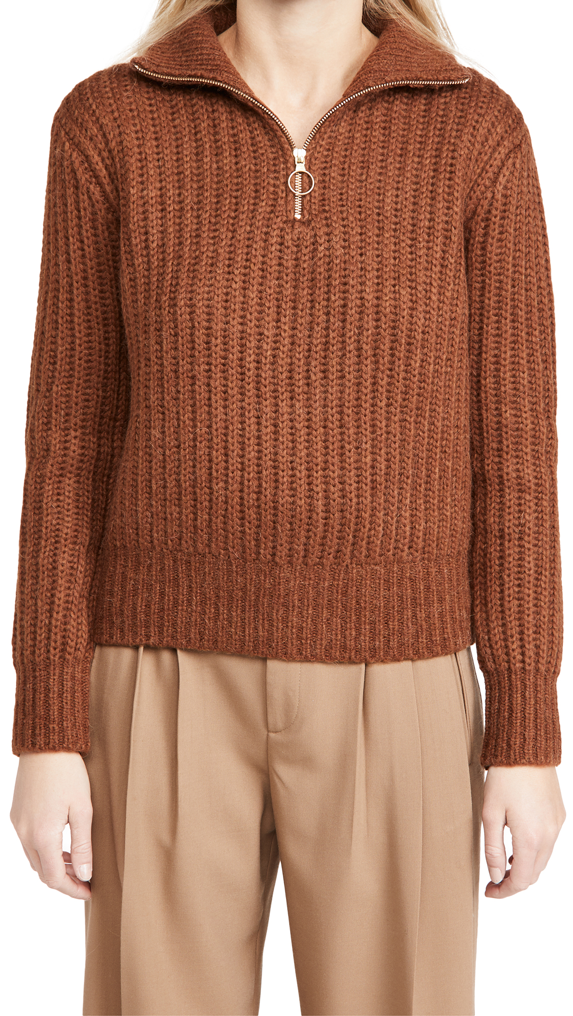 Scotch & Soda/Maison Scotch Half Zip Pullover Sweater