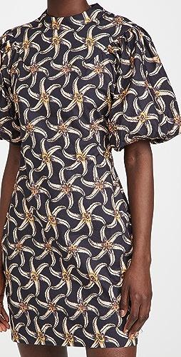 Scotch & Soda - Organic Cotton Printed Mini Dress