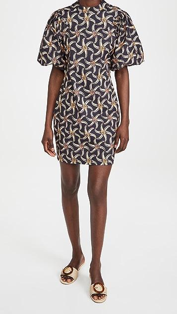 Scotch & Soda Organic Cotton Printed Mini Dress