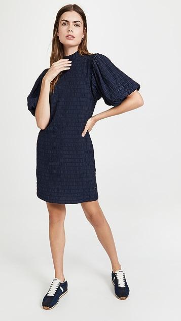 Scotch & Soda Mini Dress With Volumionous Sleeve