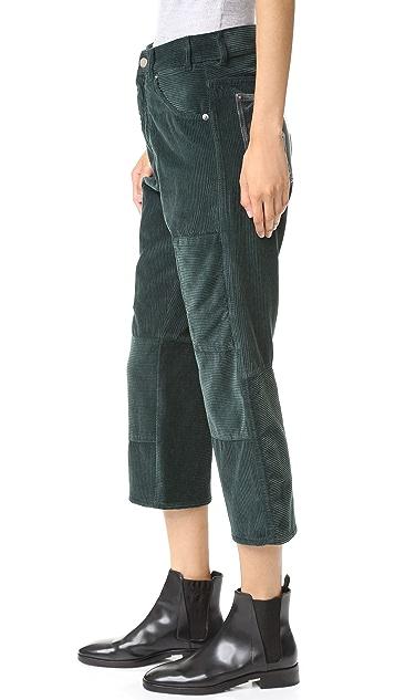 MM6 Corduroy Cargo Pants